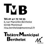 bloc marque et logo Berthelot blanc